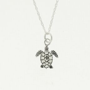 Outlander Inspired Sterling Silver Turtle Pendant 1911